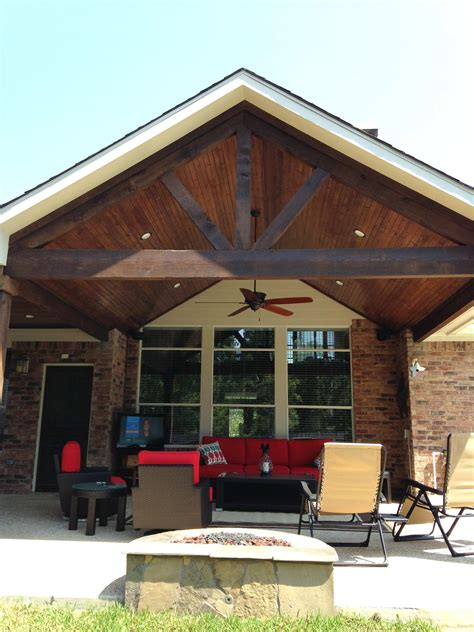 pitched roof patio covered stratco outback patios