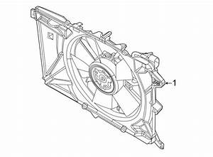 Jeep Compass Engine Cooling Fan Assembly  Radiator