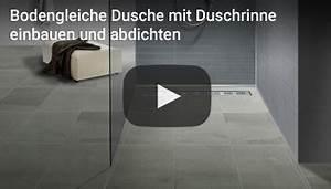 Geflieste Dusche Nachträglich Abdichten : duschelemente bodeneben befliesbar ~ Orissabook.com Haus und Dekorationen