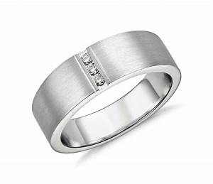 modern channel diamond ring in platinum 1 12 ct tw With wedding rings men platinum