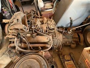 Ford Y Block And 4 Speed Manual Transmission Tranny 272