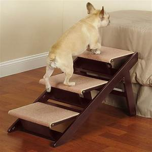 Wonderful Dog Stairs for Tall Beds : Making Dog Stairs for