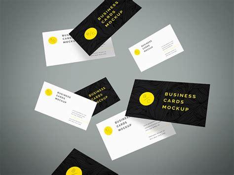 business card mockups  psd indesign ai ms