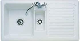 rangemaster kitchen sinks 1 5 bowl ceramic kitchen sink right drainer 1721