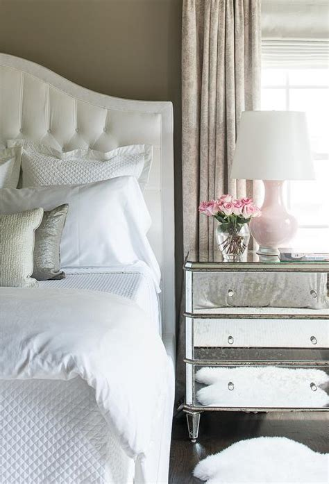 pink  gray master bedrooms transitional bedroom
