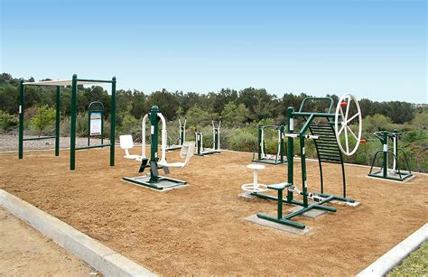 fitness park siege social saddleback church offers innovative outdoor fitness course