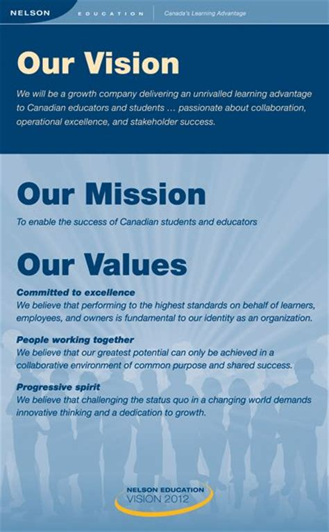 vision  mission examples ideas  pinterest