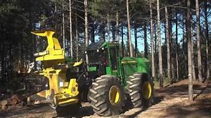 John Deere Forestry Demo Part - YouTube