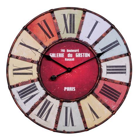 wanduhr holz vintage wanduhr vintage mehrfarbig holz 216 60 cm m 246 bel