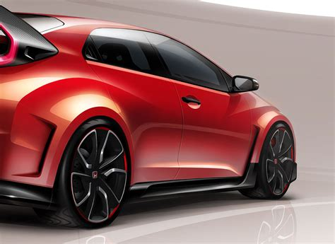 New Honda Civic Type R Concept