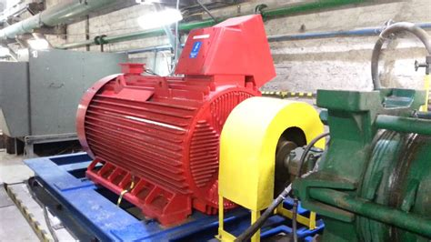 Large Electric Motor by Run Up Of Line Start Permanent Magnet Synchronous Motor In