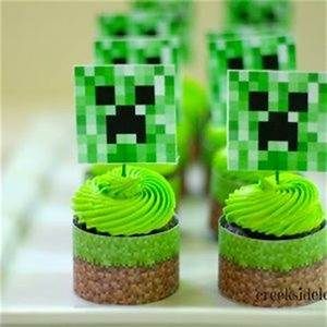 Cakes, Squares and Minecraft on Pinterest