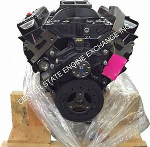 New 5 7l 350 V8 Vortec Gm Marine Base Engine With Intake
