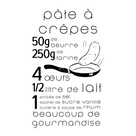 stickers recette de cuisine sticker mural recette p 226 te 224 cr 234 pes gt d 233 comotif