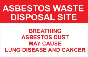 follow asbestos regulations