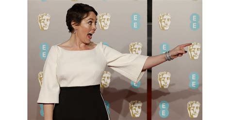 When She Was So Excited To Be At The Baftas Olivia
