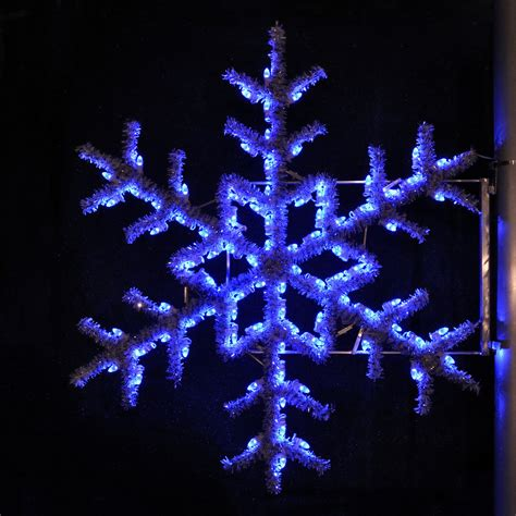 blue outdoor christmas lights shop holiday lighting specialists 5 ft garland snowflake