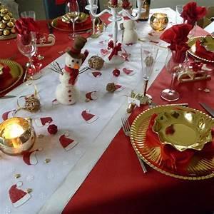 Decoration De Noel Table : decoration noel a table d coration de no l d co colo ~ Melissatoandfro.com Idées de Décoration