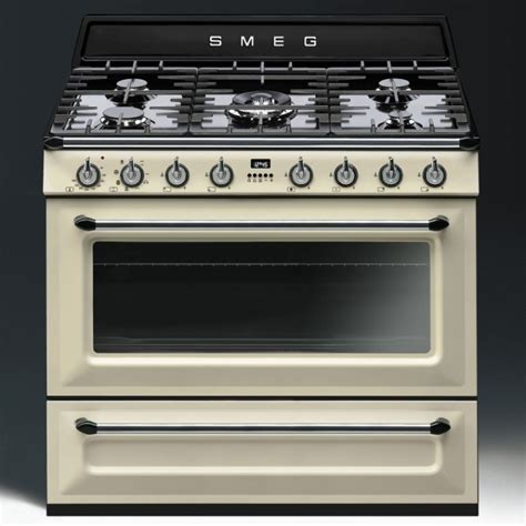 smeg tr90p1 90cm single cavity dual fuel range cooker appliance city