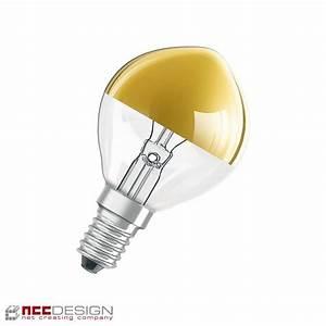 Glühbirne E14 25 Watt : 1 x osram tropfen kopfspiegel gold 25w e14 gl hbirne gl hla ~ Watch28wear.com Haus und Dekorationen