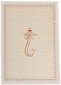 hindu wedding invitation with ganesha and sanskrit shlokas With hindu wedding invitations with ganesh
