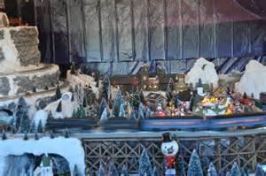 Christmas Train Display