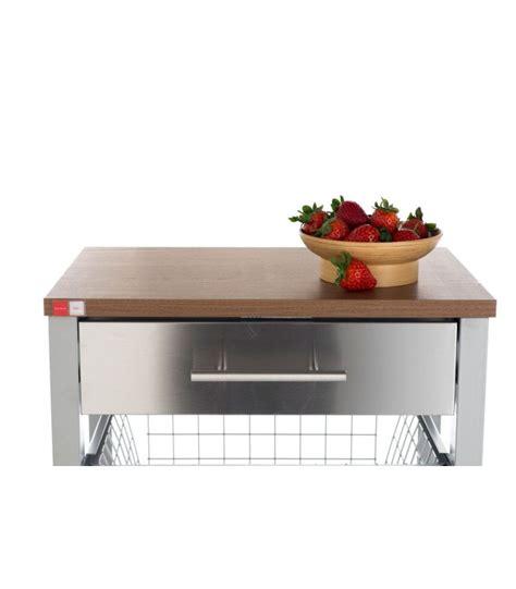 cuisine en aluminium desserte de cuisine en aluminium et bois wadiga com