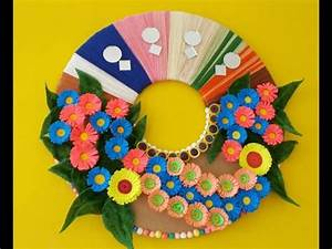 Wall decoration ideas how to make a easy paper