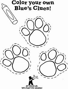 Paw Print Coloring Pages Coloring Home