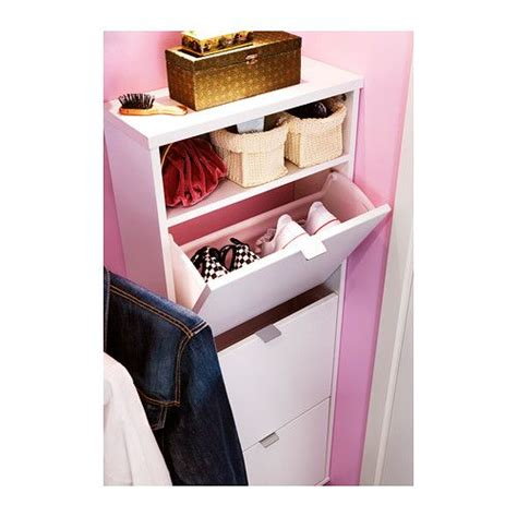 Bissa Shoe Cabinet Dimensions by Sk 196 R Shoe Cabinet With 3 Compartments Ikea Helps You