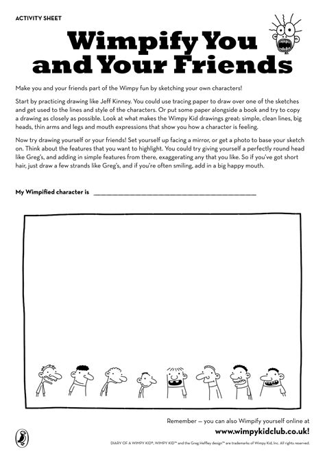 wimpify  friends  images kids book club wimpy