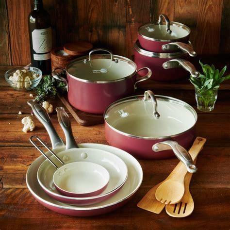 cookware healthy ceramic nonstick piece greenpan food popsugar main