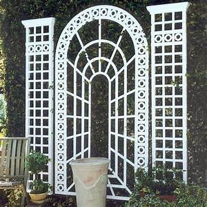 Perspective outdoor wall trellis pergolas arbors and