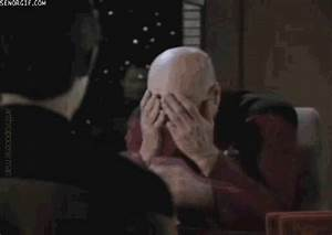 Star Trek Facepalm GIF by Cheezburger - Find & Share on GIPHY