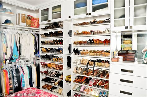 stylish white walk in closet modern miami by