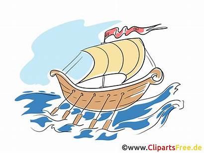 Clipart Schiff Wikinger Bild Viking Utklipp Ship