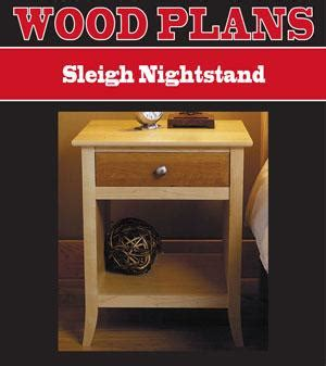 woodworking plans night stand wooden plans
