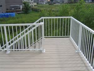 aluminum deck railing ideas home design ideas