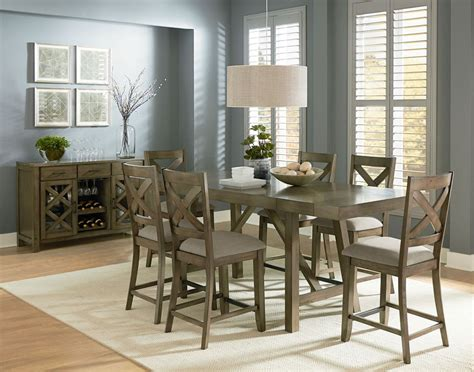 furniture counter height table sets  elegant dining