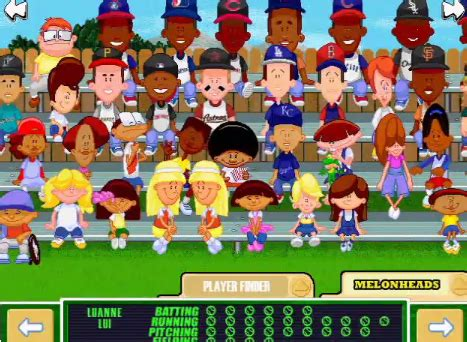 Backyard Sports Players by Much Tuma Backyard Baseball 2017 Player
