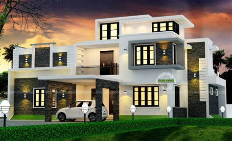 Spectacular Modern Box Type House With Estimated