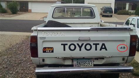 toyota area fs pacsowest 1983 toyota 4x4 pickup phoenix area