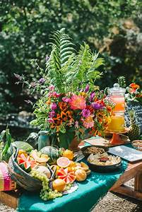 Spanish Styled Food Display Wedding Party Ideas 100