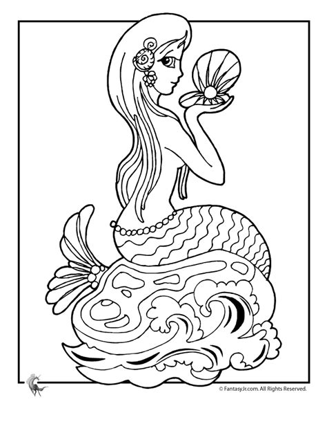 cartoons coloring pages barbie   mermaid tale coloring