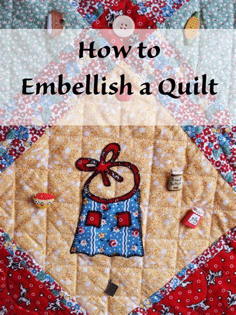 quilt embellish embellishments