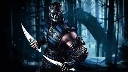 Mortal Kombat Zero Sub Artwork Warrior Games