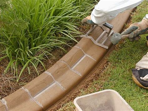 types of lawn edging different types of garden edging concrete edging garden tips pinterest different types