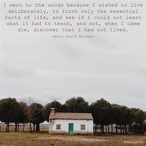 Words Wednesday... Thoreau Book Quotes