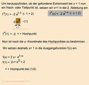 Wendepunkte Berechnen Aufgaben : kurvendiskussion e funktionen ableitungsregeln und bungen zur ableitung von e funktionen ~ Themetempest.com Abrechnung