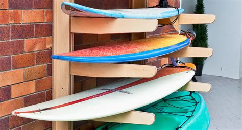 how to make a surfboard rack for your how to make a surfboard rack better homes and gardens